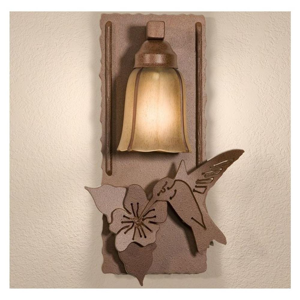 Hummingbird Wall Lamp   Colorado Dallas   CDWL80770DFRMA