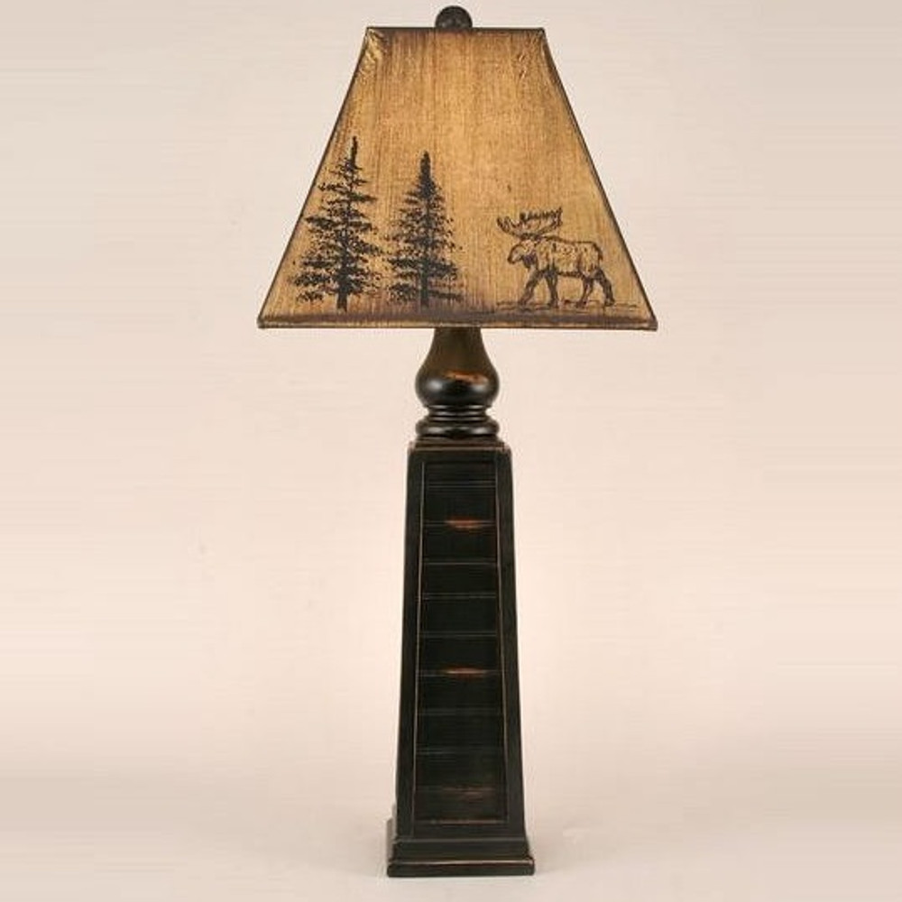 Moose Forest Table Lamp | Coast Lamp | CLM2882