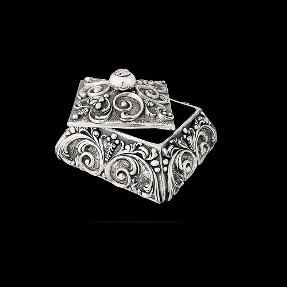 Silver Plated Jewelry Box U301 | D'Argenta