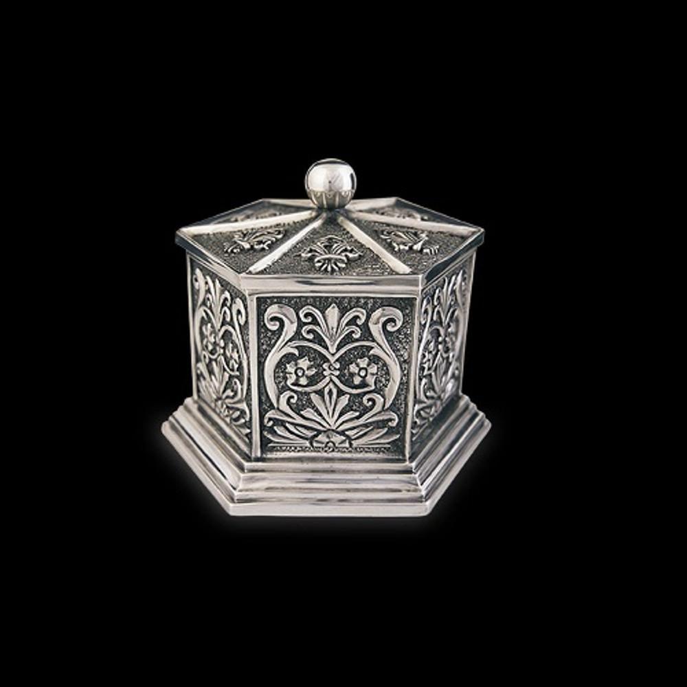 Silver Plated Tall Jewelry Box U303   D'Argenta