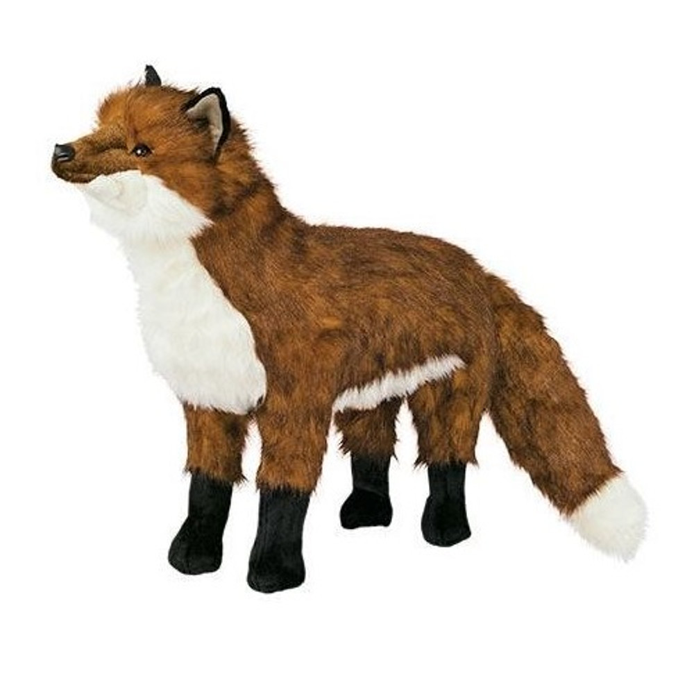 Red Fox Footrest | Ditz Designs | DIT69003
