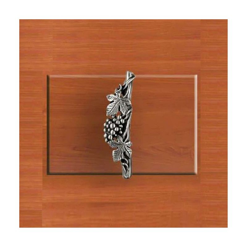 Grapes Left Vertical Drawer Pull | Functional Fine Art | ffa02147