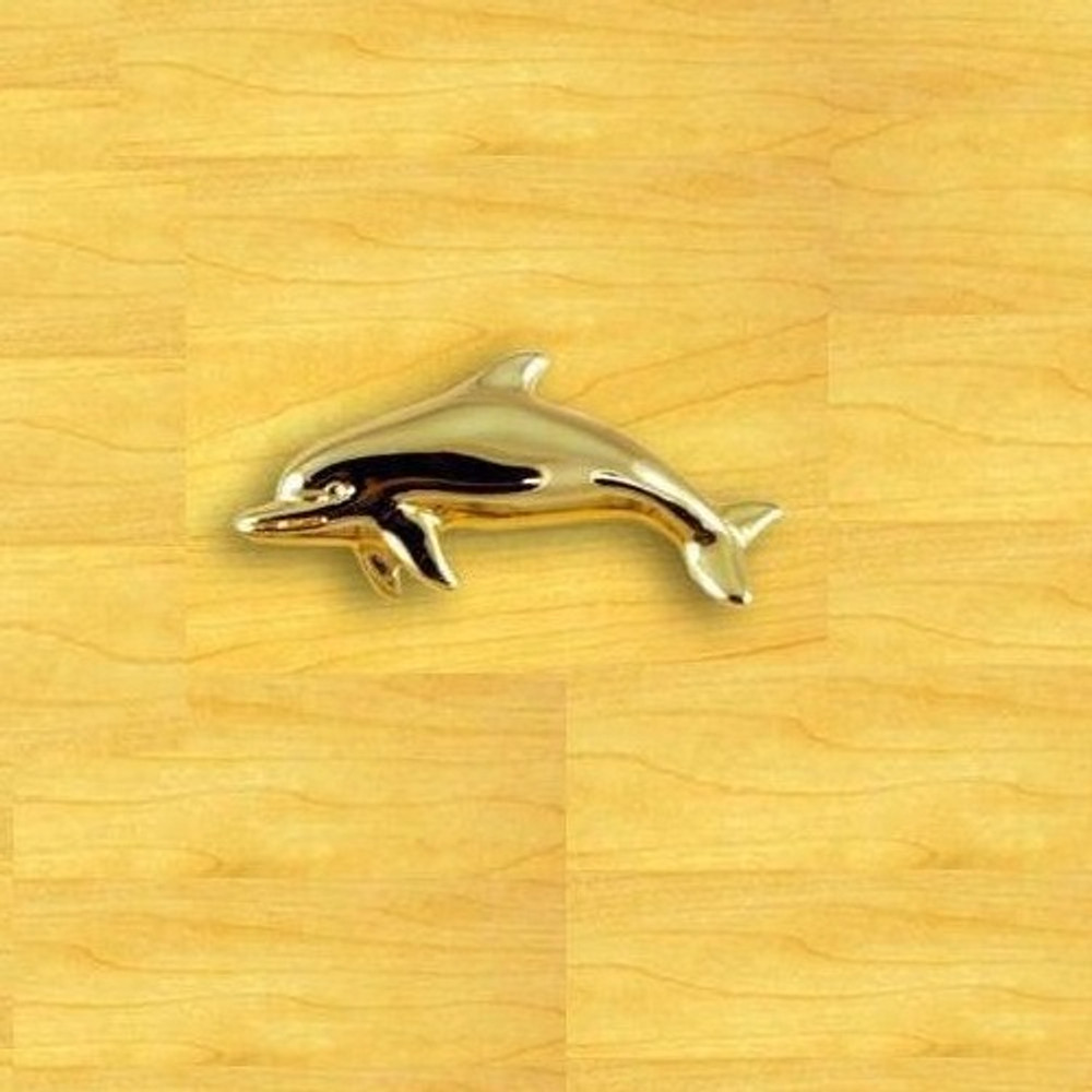 Dolphin Knob Right   Functional Fine Art   ffa03001