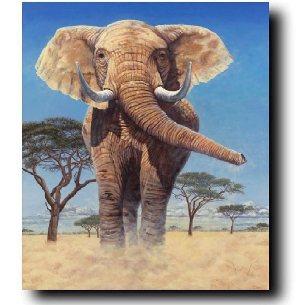 "Elephant Print ""Stand Your Ground"" | Gary Johnson | GJgcsyg"