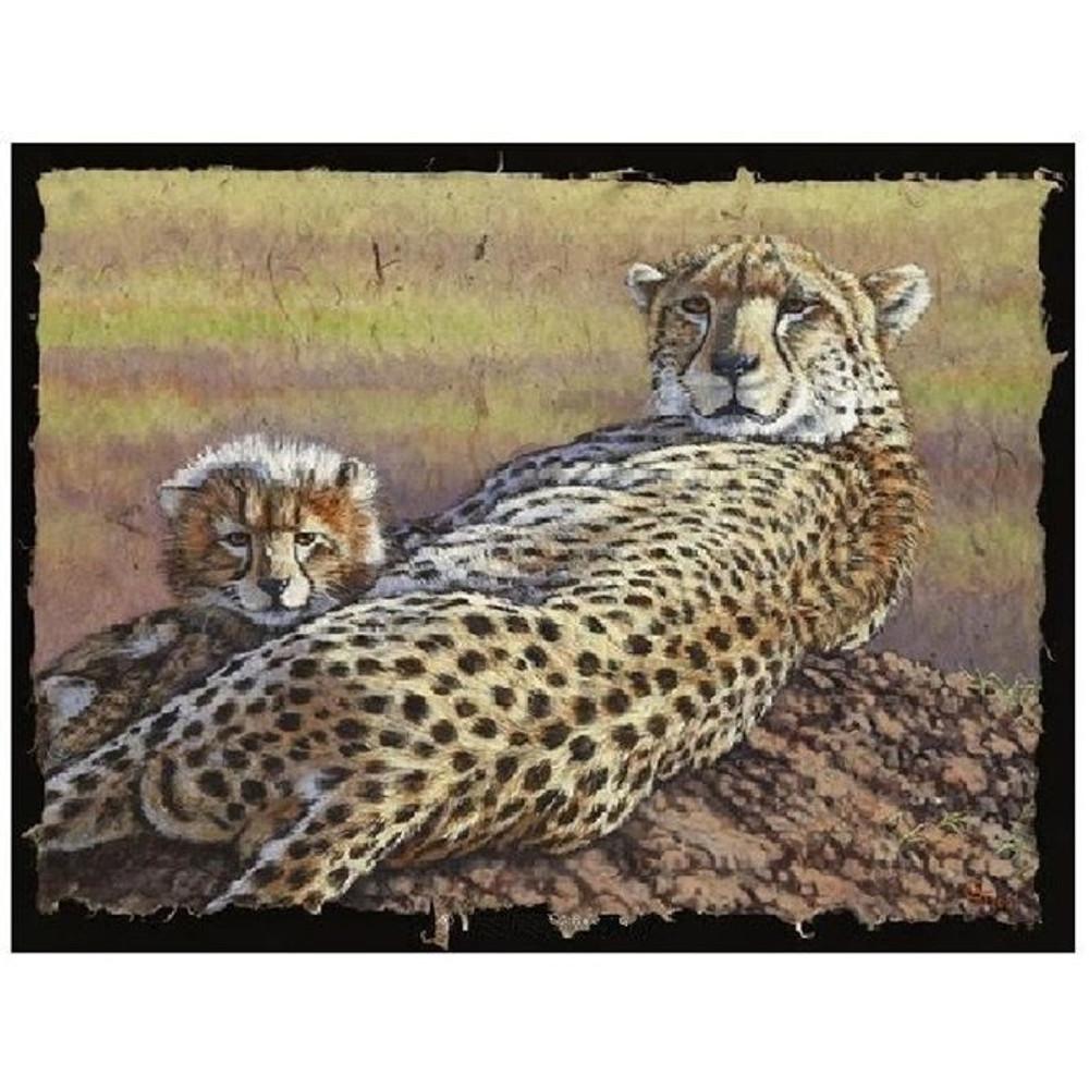 "Cheetah Print ""Top of the Morning"" | Gary Johnson | GJgctotm"