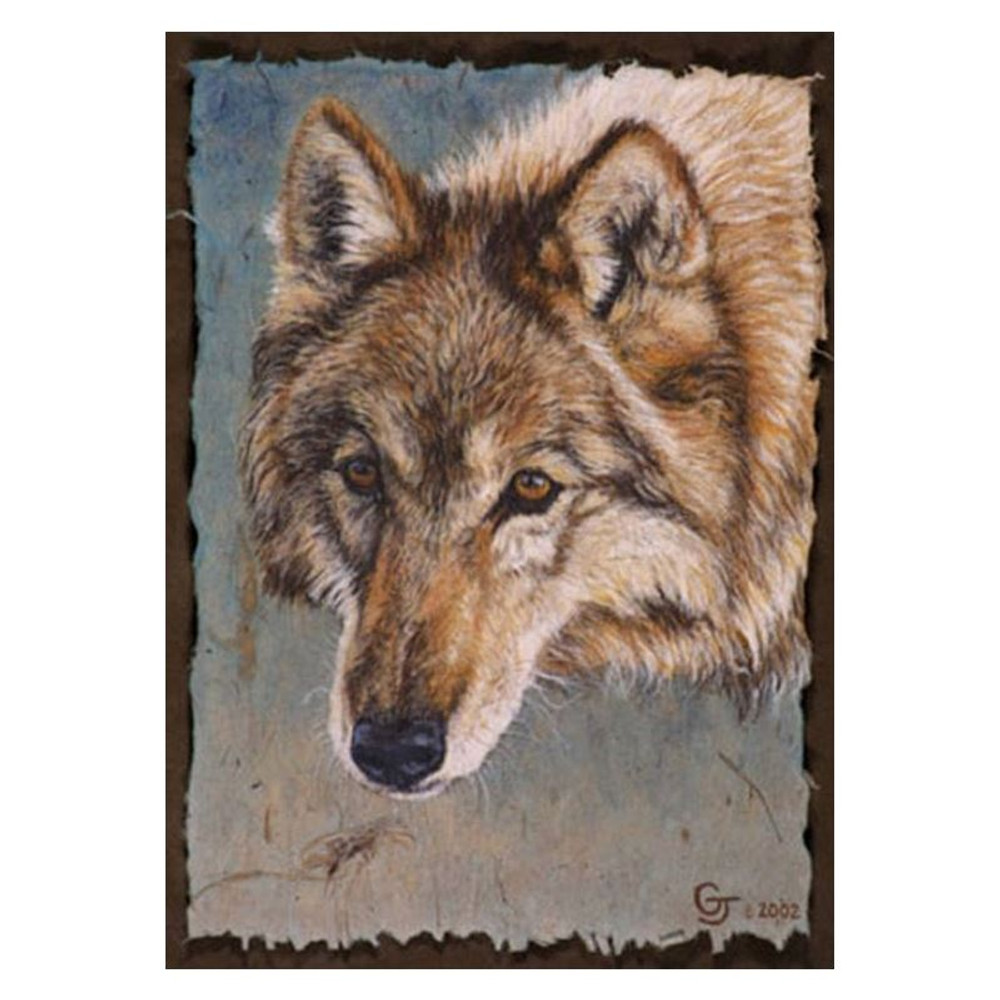 """Wolf Print """"A Wolf Named Red""""   Gary Johnson   GJgcwolfred"""