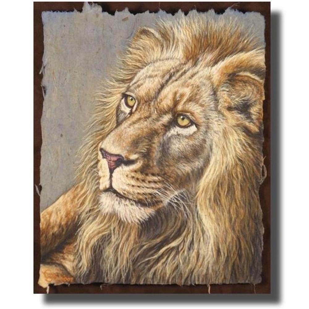 "Lion Print ""Le Roi"" | Gary Johnson | GJgplr"