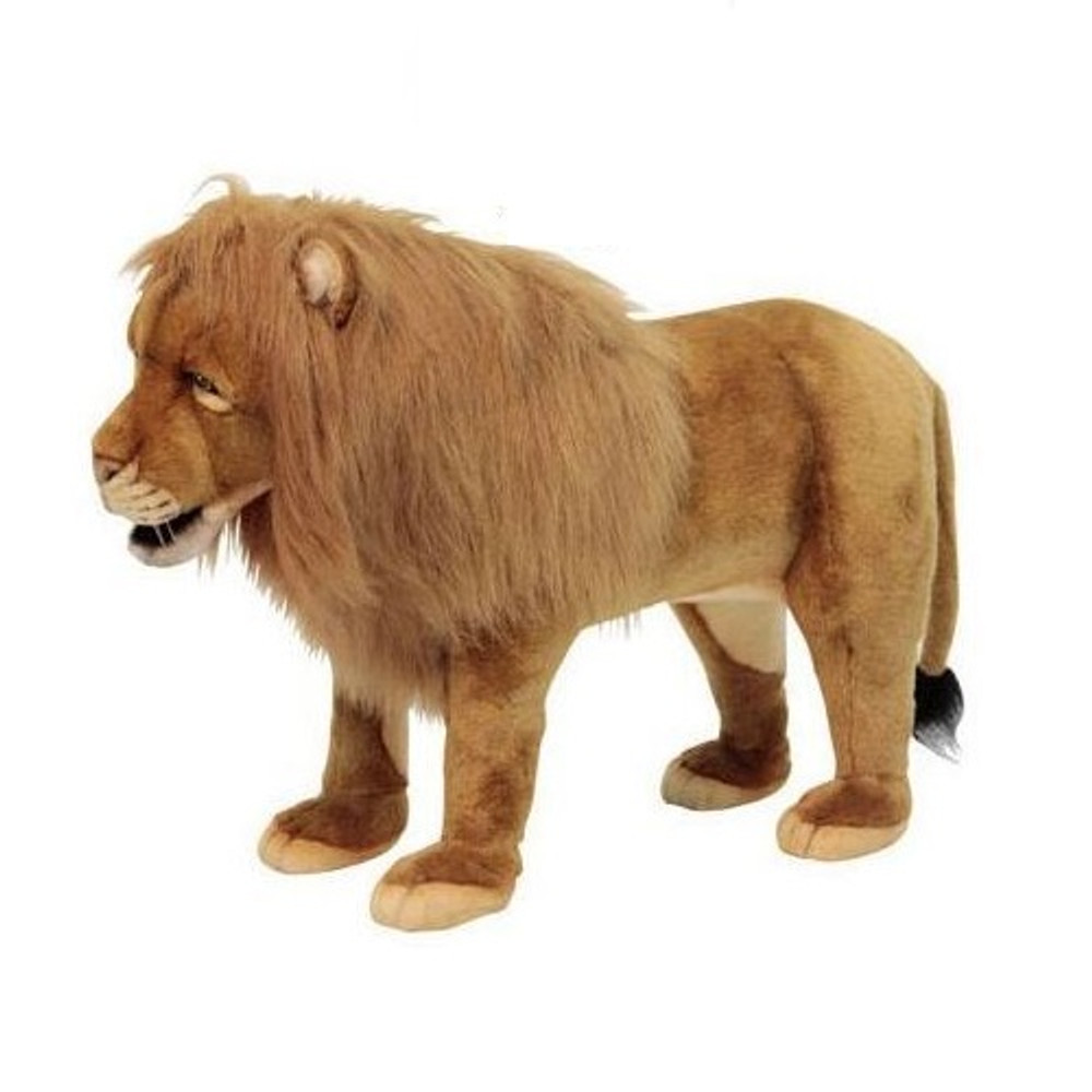 Lion Plush Foot Stool | Hansa Toys | HTU6079