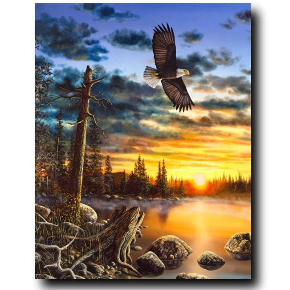 "Eagle Print ""Kings Domain"" 