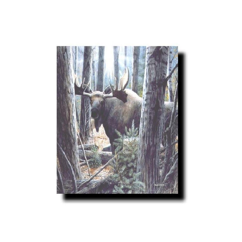 "Moose Print ""King of the Northwoods"" | Kevin Daniel | KD131"