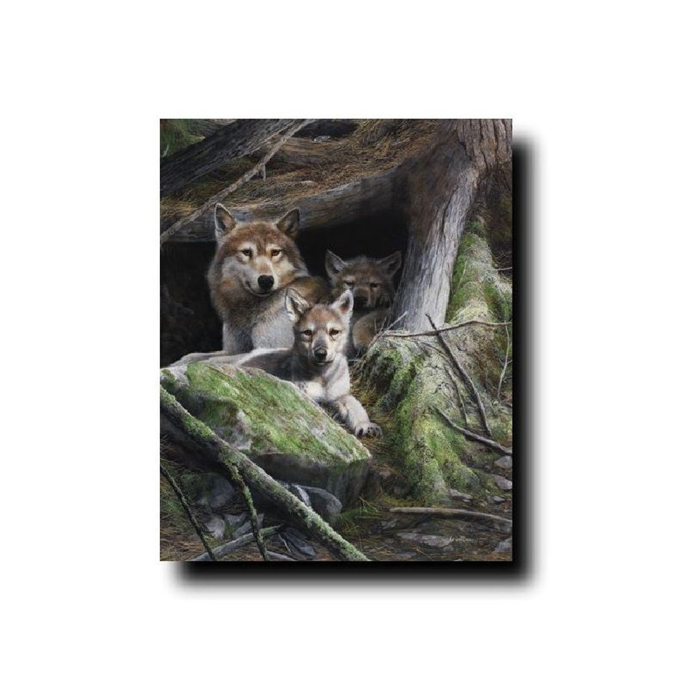 """Wolf Print """"A Mother's Pride"""" 