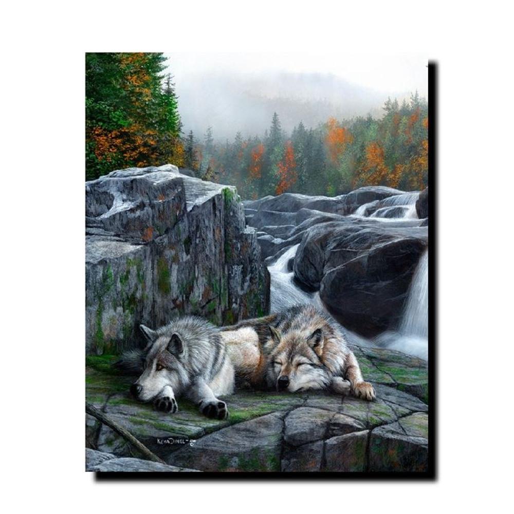 "Wolf Print ""Lazy Afternoon"" | Kevin Daniel | KD341"