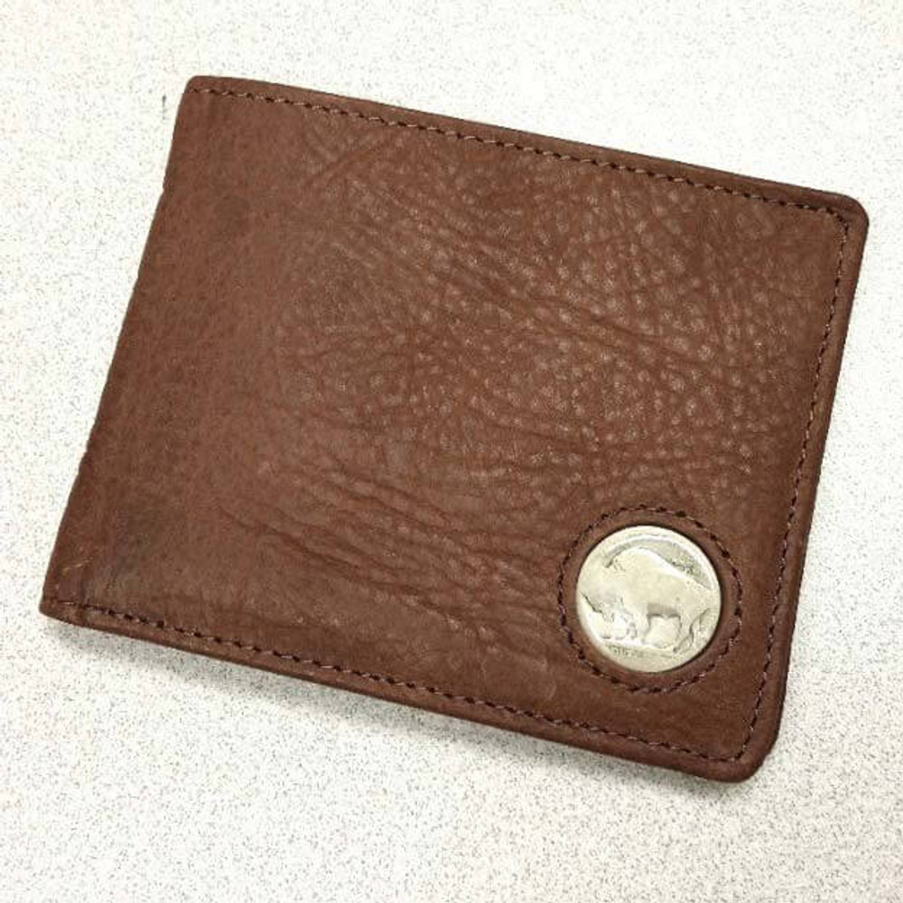 American Bison Buffalo Nickel Men's Bifold Wallet | KPBIS15