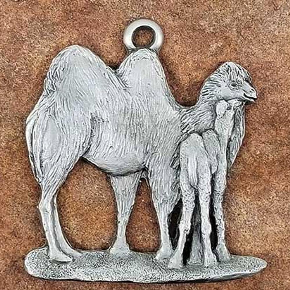 Camel Pewter Ornament   Andy Schumann   SCHMC122107