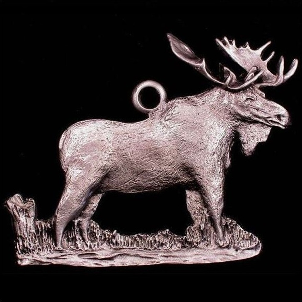 Moose Pewter Ornament | Andy Schumann | SCHMC122108