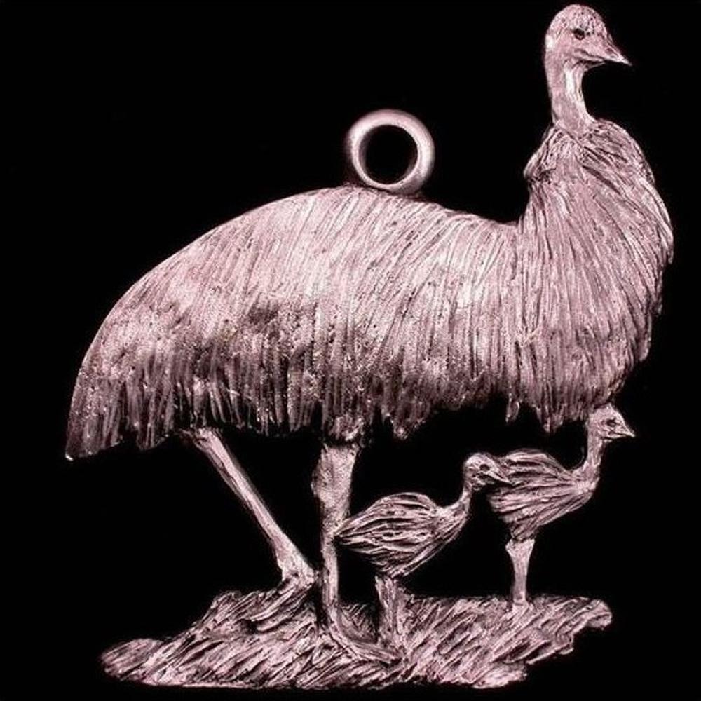 Emu Pewter Ornament | Andy Schumann | SCHMC122119