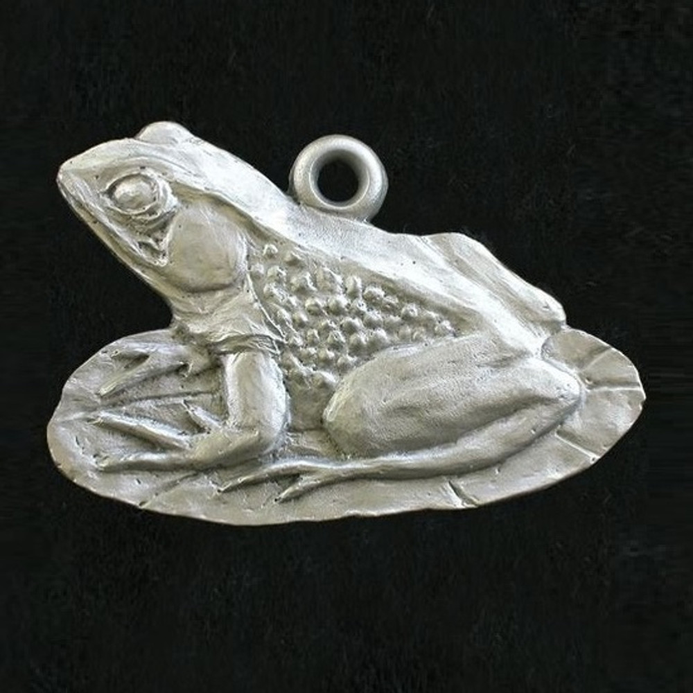 Frog Pewter Ornament | Andy Schumann | SCHMC122140