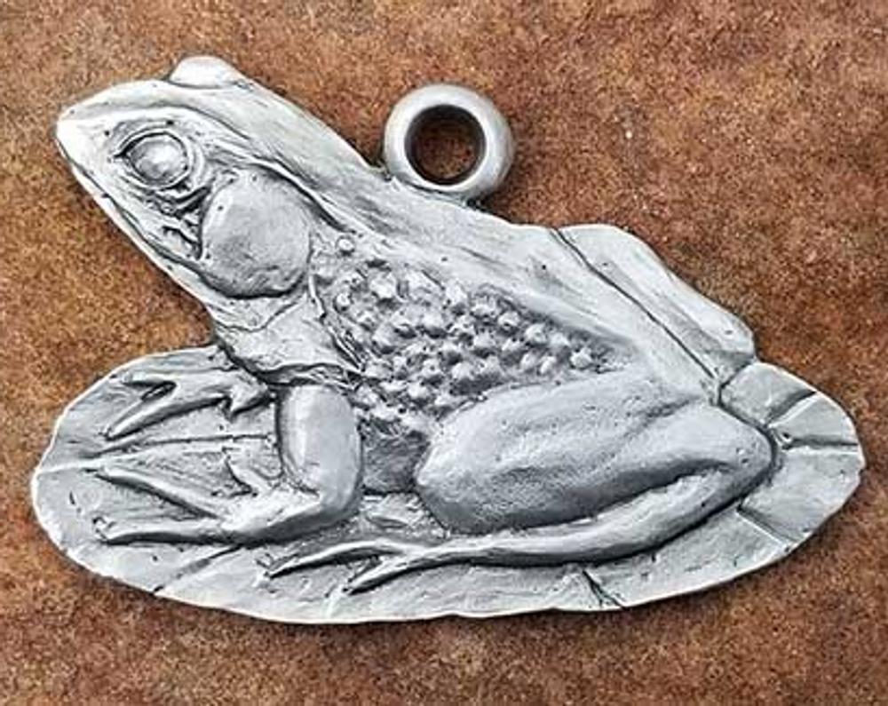 Frog Pewter Ornament | Andy Schumann | SCHMC122140