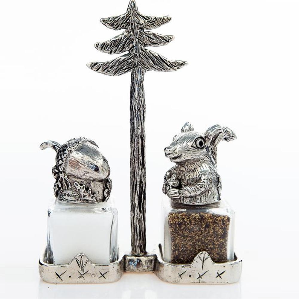 Squirrel Nut Salt Pepper Shakers Nutty Buddies | Silvie Goldmark | SGM120