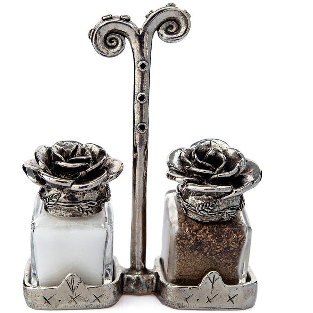 Roses Salt Pepper Shakers   Silvie Goldmark   SGM125