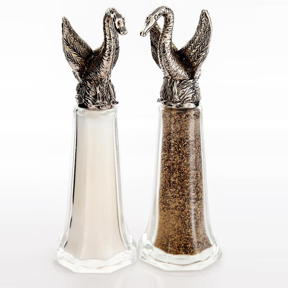 Swan Lake Tall Salt Pepper Shakers | Silvie Goldmark | SGM126