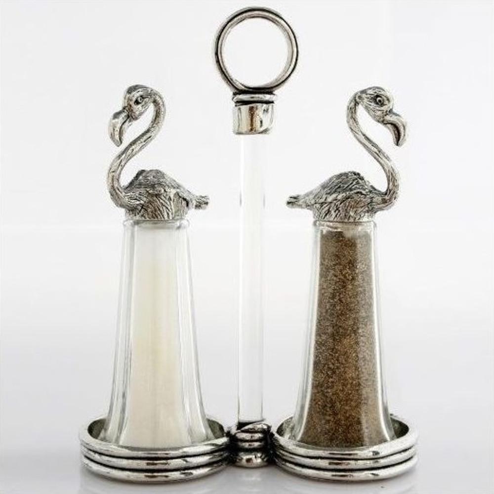 Flamingo Tall Salt Pepper Shakers | Silvie Goldmark | SGM128