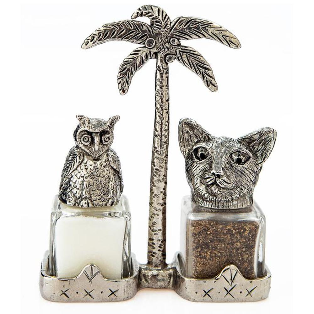 Owl the Pussycat Salt Pepper Shakers | Silvie Goldmark | SGM132
