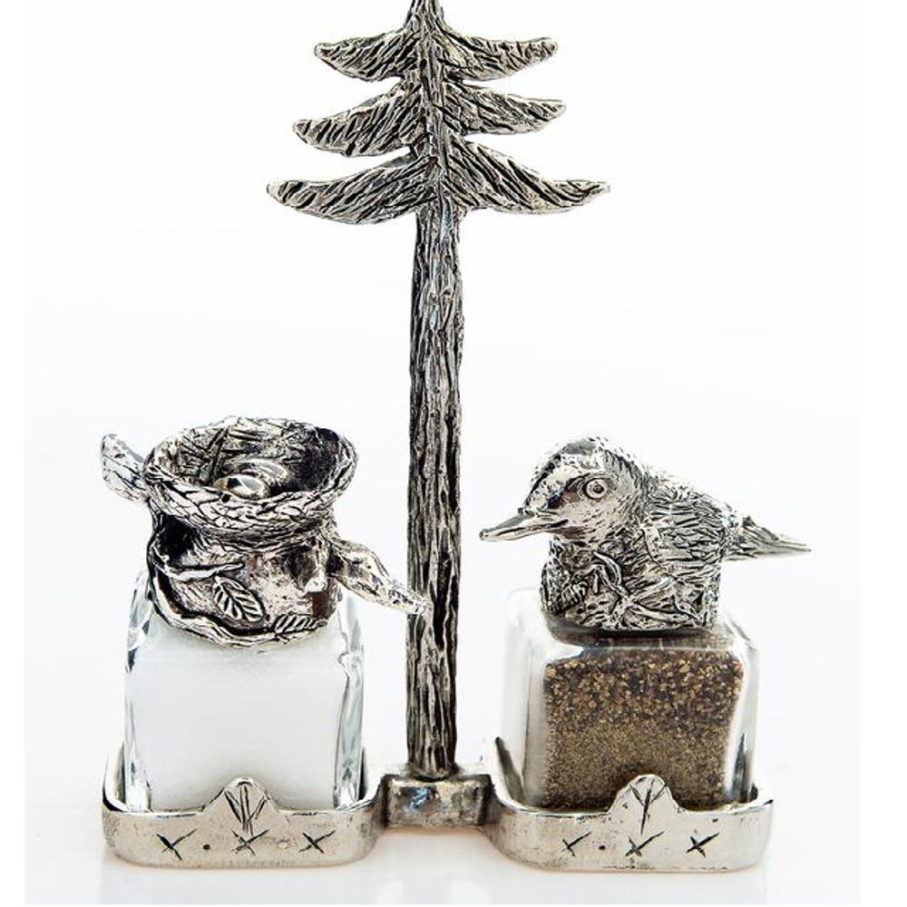 Bird Nest Salt Pepper Shakers   Silvie Goldmark   SGM14