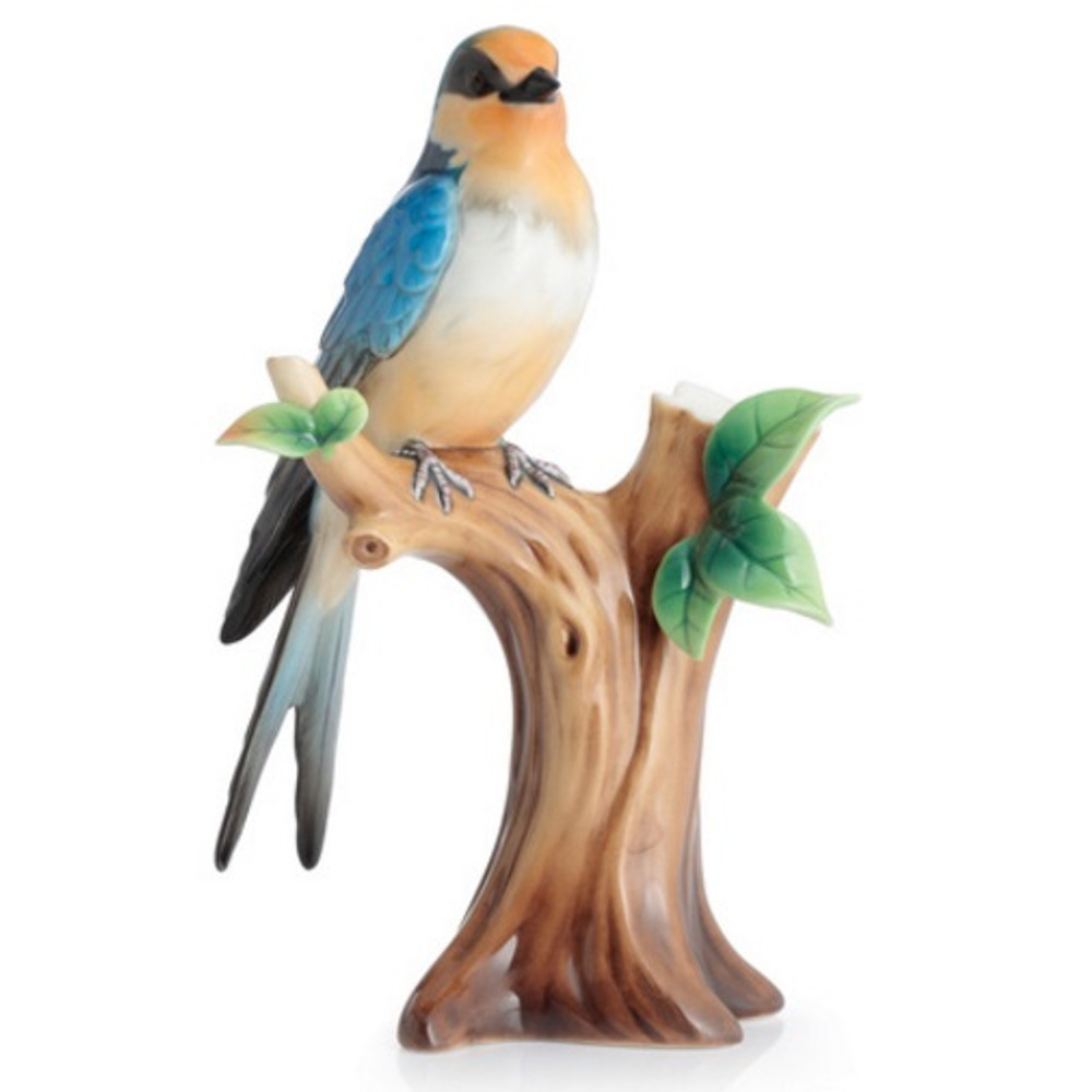 Barn Swallow Small Vase | FZ02844 | Franz Porcelain Collection