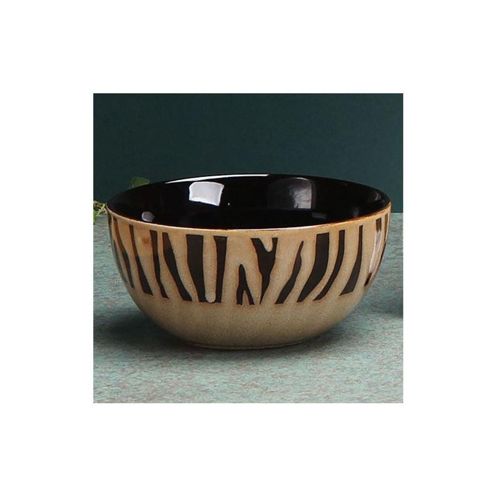 Zebra Dinnerware 4 Piece Place Setting | Unison Gifts | UGITCDZebra-1 -2