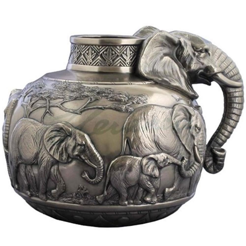 Elephant Safari Vase | Unicorn Studios | USIWU72001V1