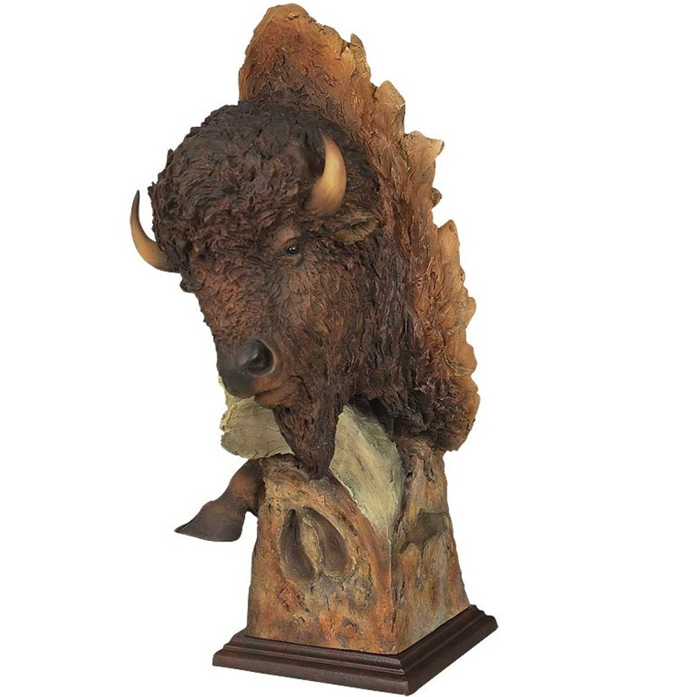 "Bison Sculpture ""Dust and Thunder"" 