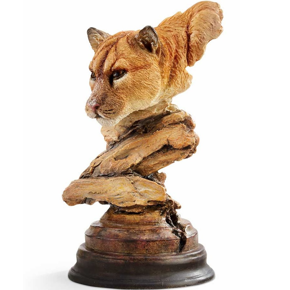 "Cougar Sculpture ""Catamount"" | Mill Creek Studios | 6567440173"