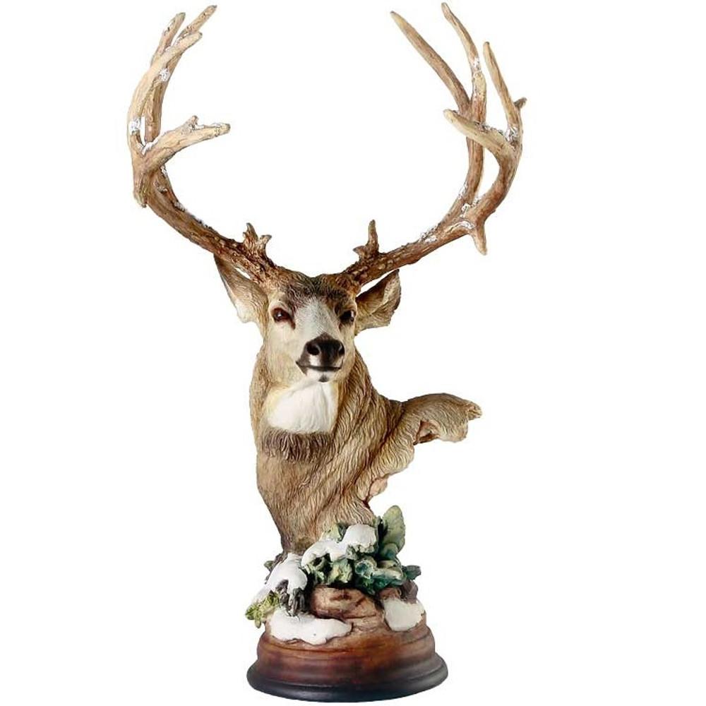 """Deer Sculpture """"First Snow""""   Mill Creek Studios   6567440965"""