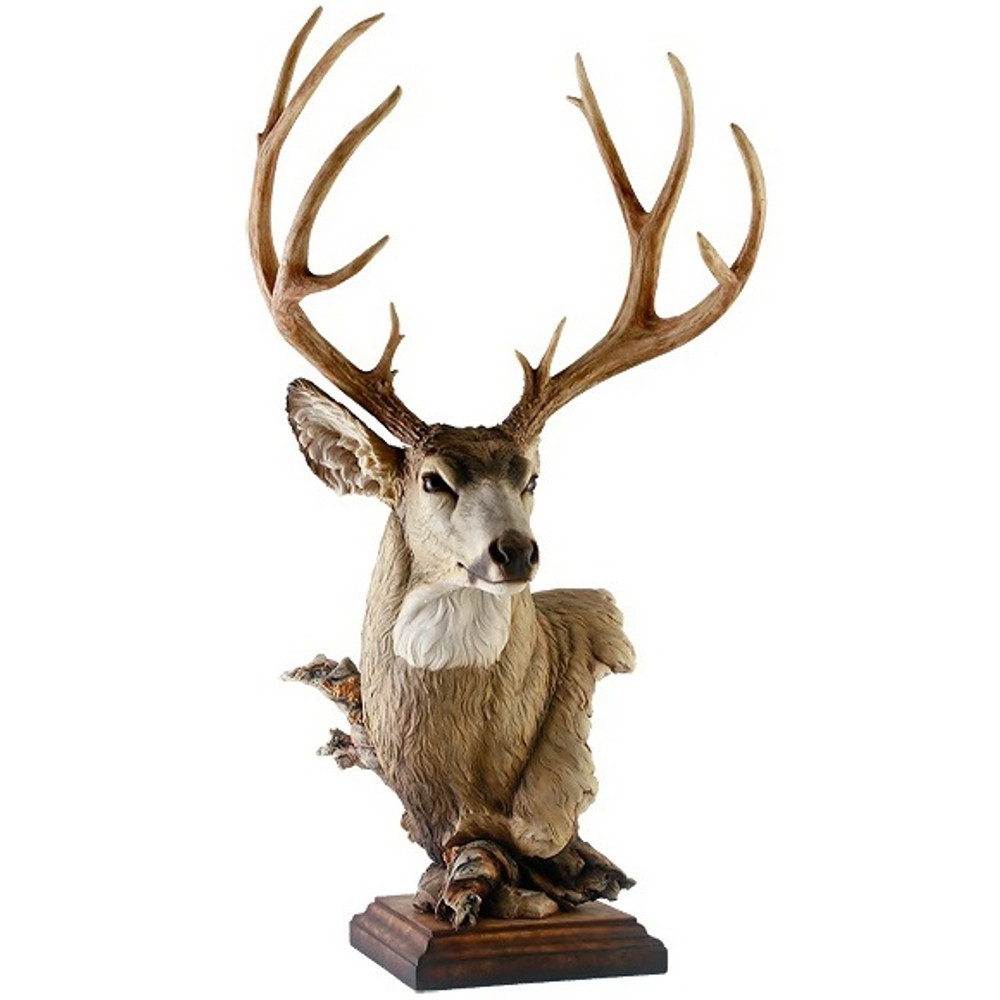 "Mule Deer Sculpture"" Out West"" 