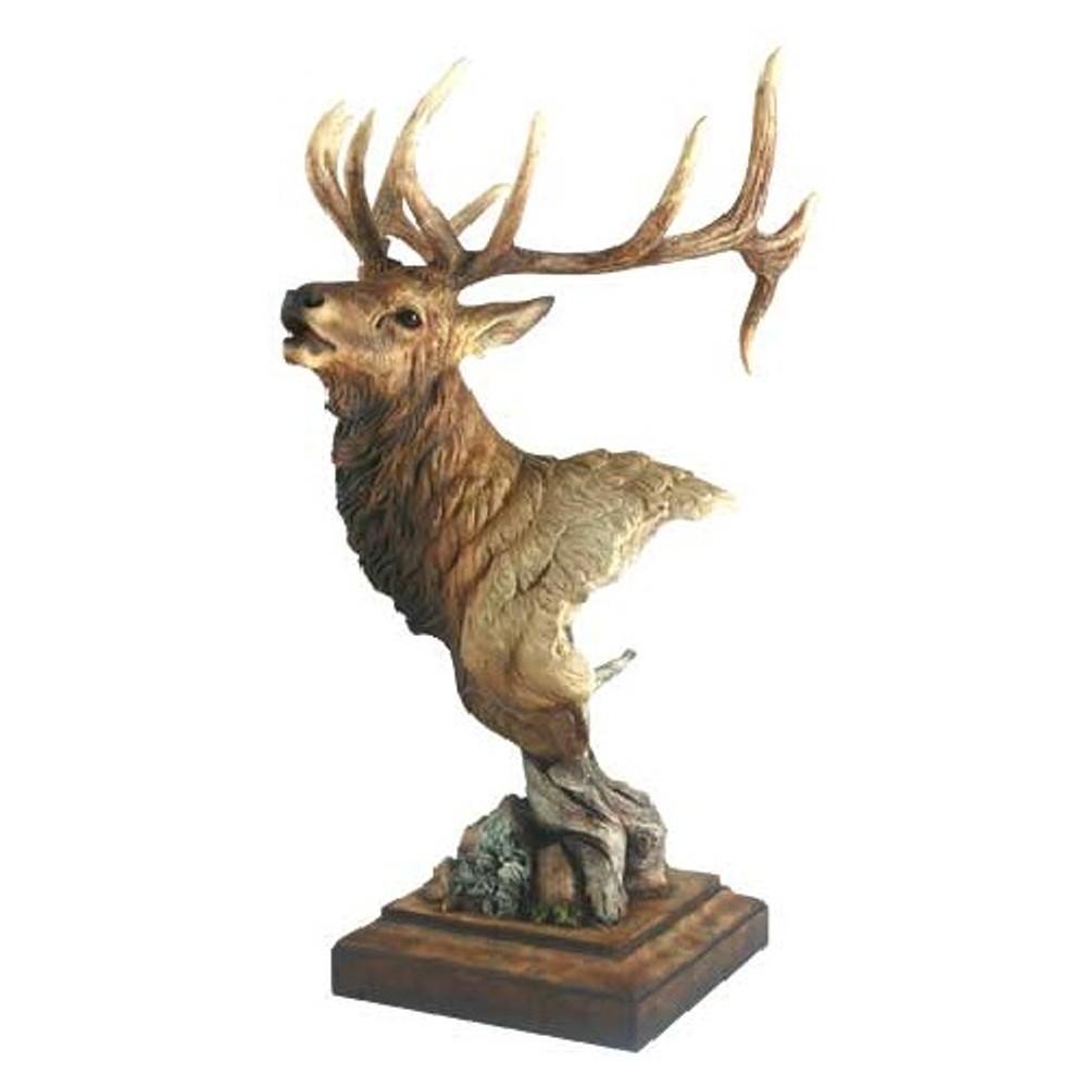 "Elk Sculpture ""High Point"" | Mill Creek Studios | 6567526166"