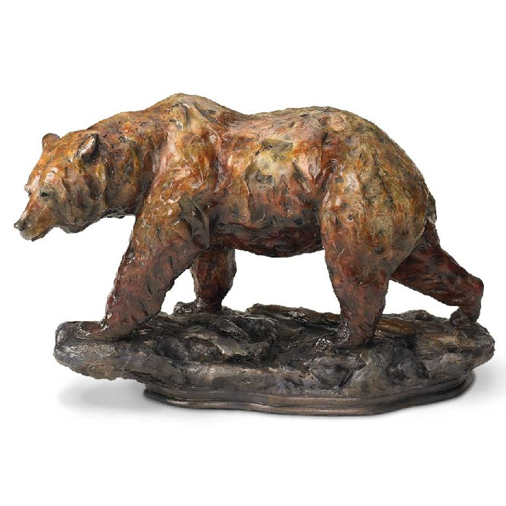 "Bear Sculpture ""One Step"" 