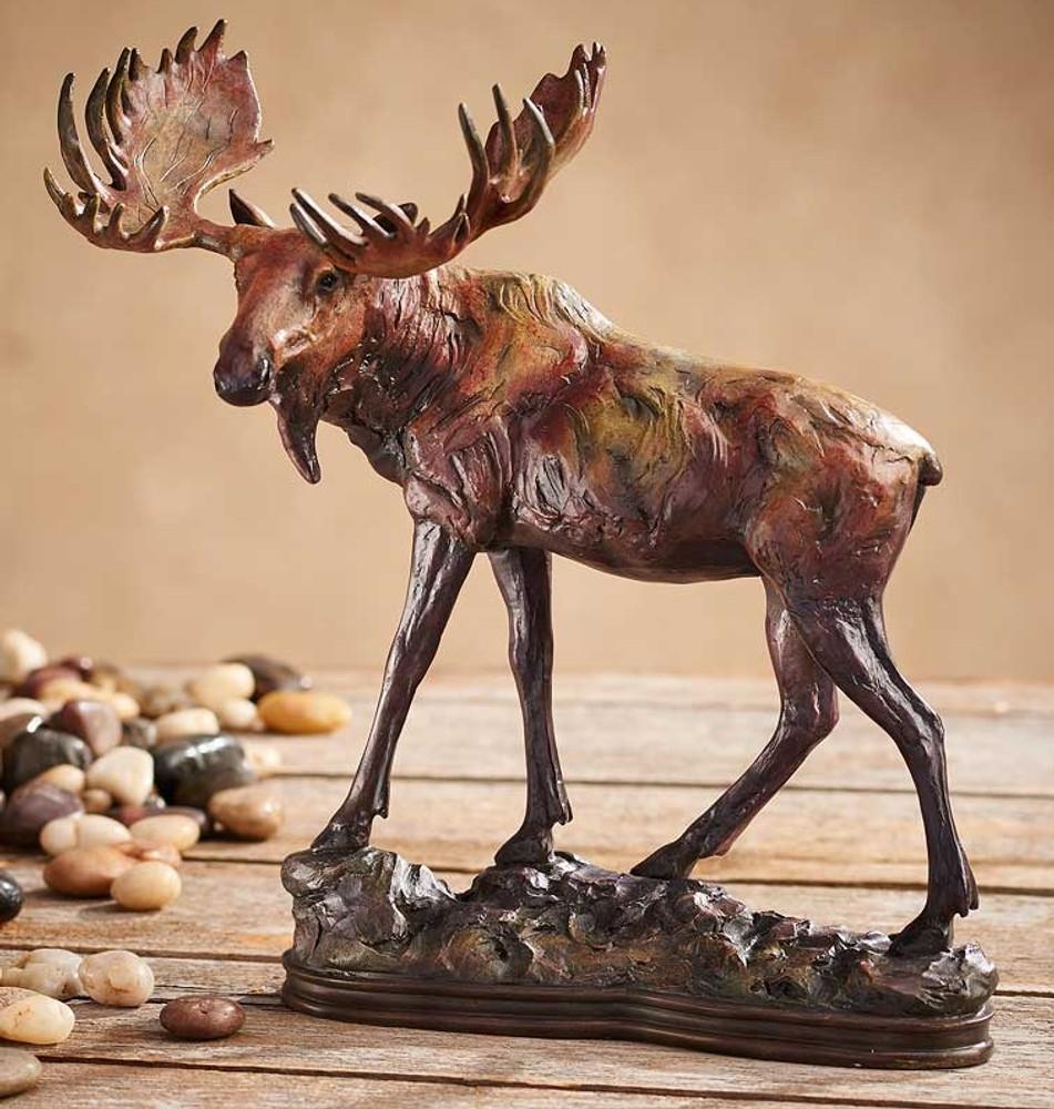 """Moose Sculpture """"Gentle Giant"""""""