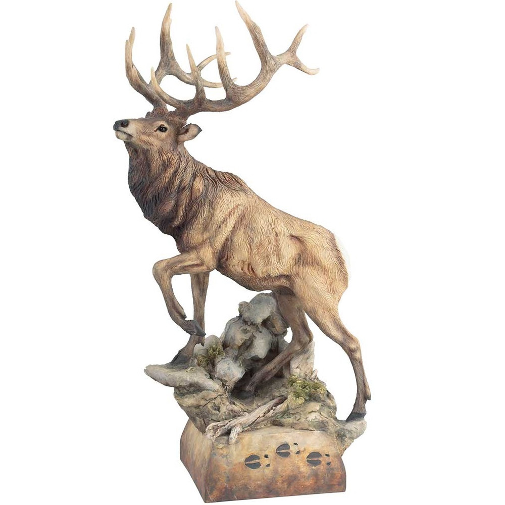 "Elk Sculpture ""Hoofin It"" 