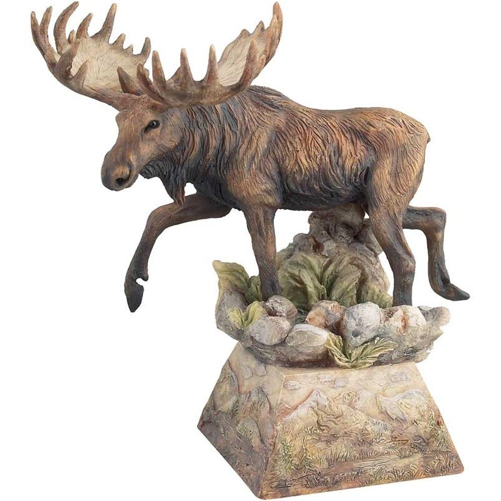 """Moose Sculpture """"Ambler""""   Mill Creek Studios   6567775468"""