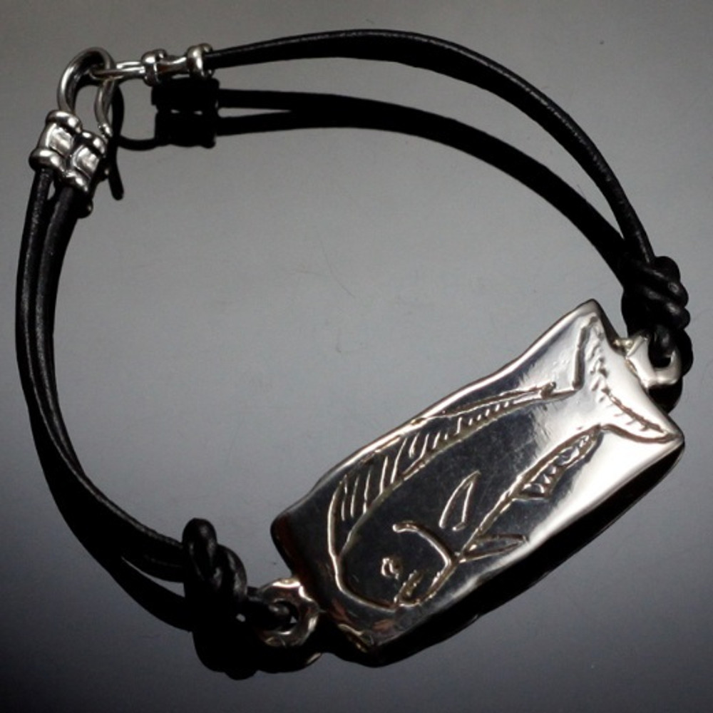 Mahi Mahi Sterling Silver Bracelet | Anisa Stewart Jewelry | ASJbf1004