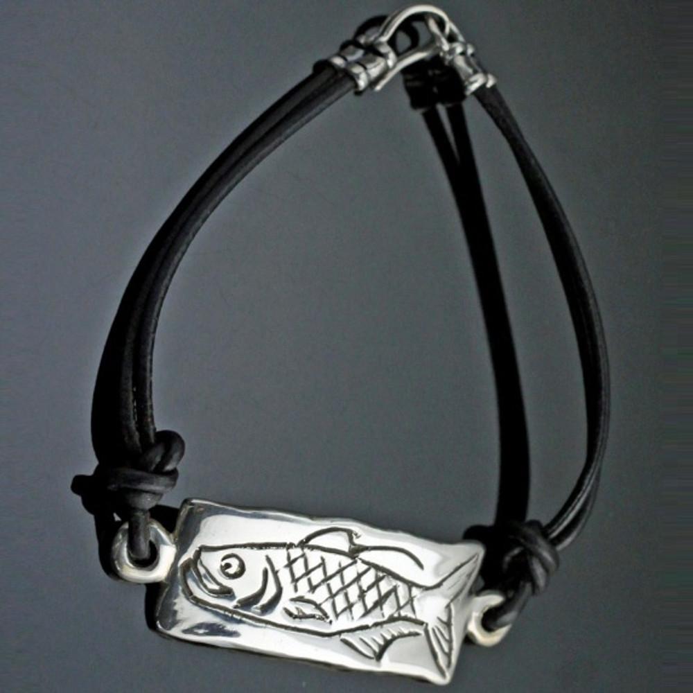 Tarpon Sterling Silver Bracelet | Anisa Stewart Jewelry | AStarponbracelet
