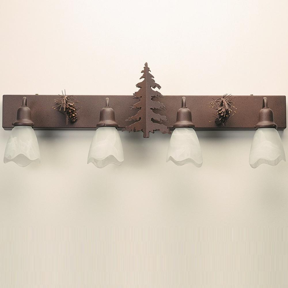 Pine Tree Vanity Light | Colorado Dallas | CDBL36GS0113D01