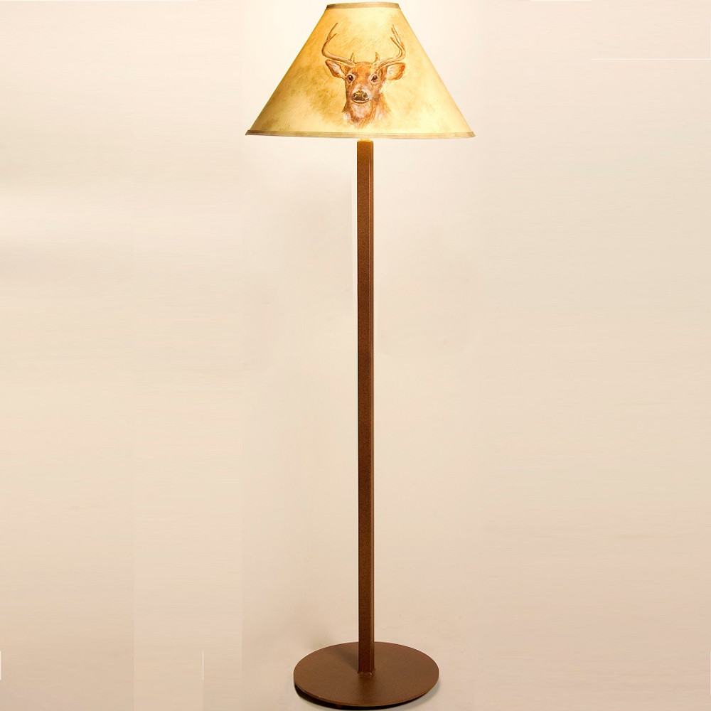 Deer Shade Floor Lamp | Colorado Dallas | CDFL00SH2158HP16