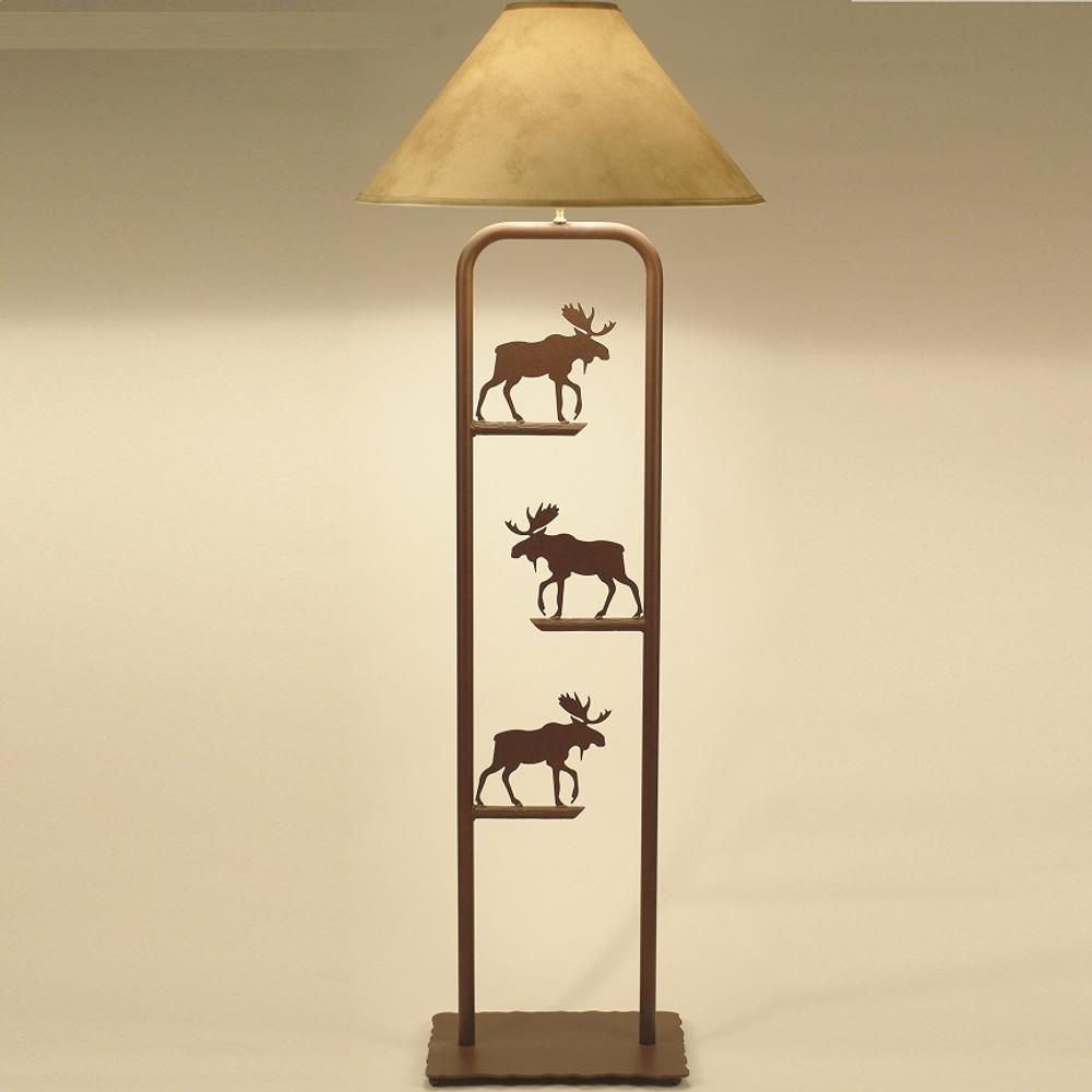 Moose Fortress Floor Lamp | Colorado Dallas | CDFLF10SH2159