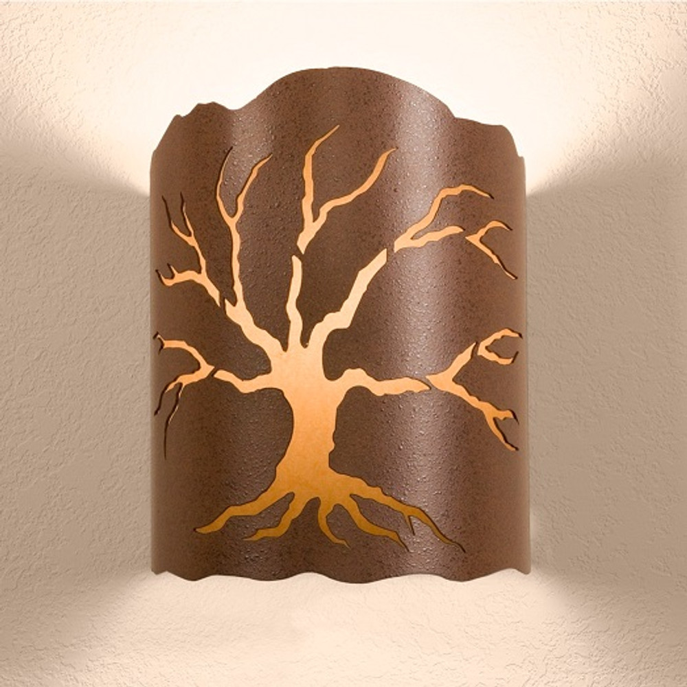 various colors 7bb22 0506e Tree Wall Sconce