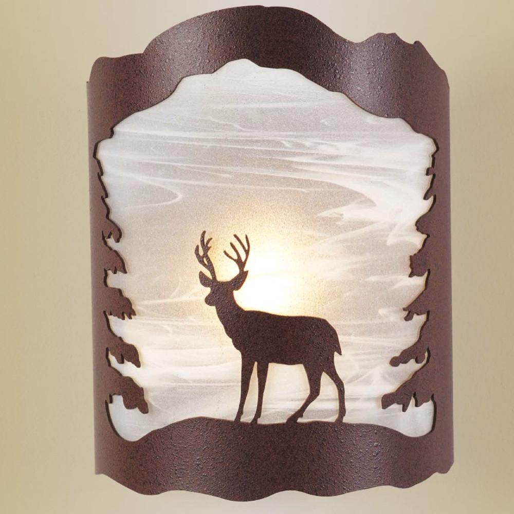 Deer Wall Sconce | Colorado Dallas | CDSCGS16ALDIR