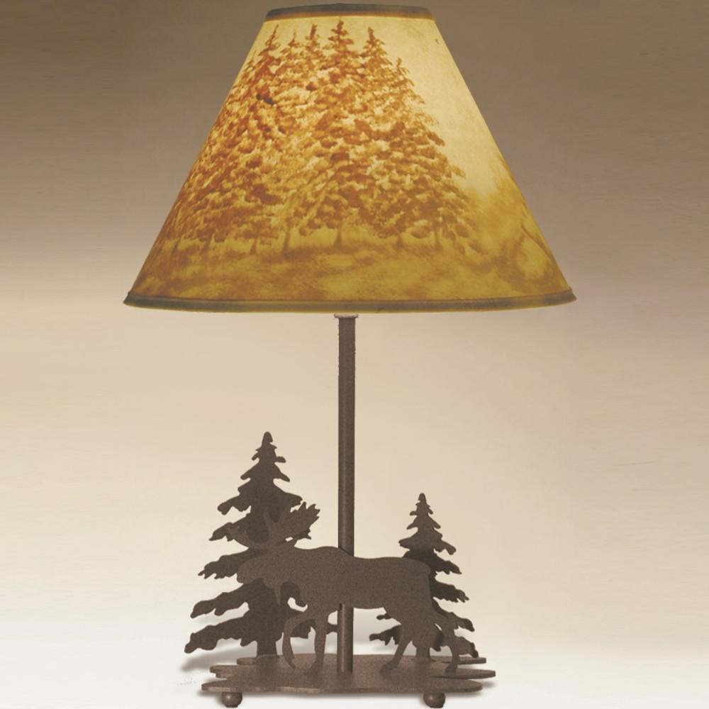 Moose Table Lamp | Colorado Dallas | CDSL1027LSH2156HP13