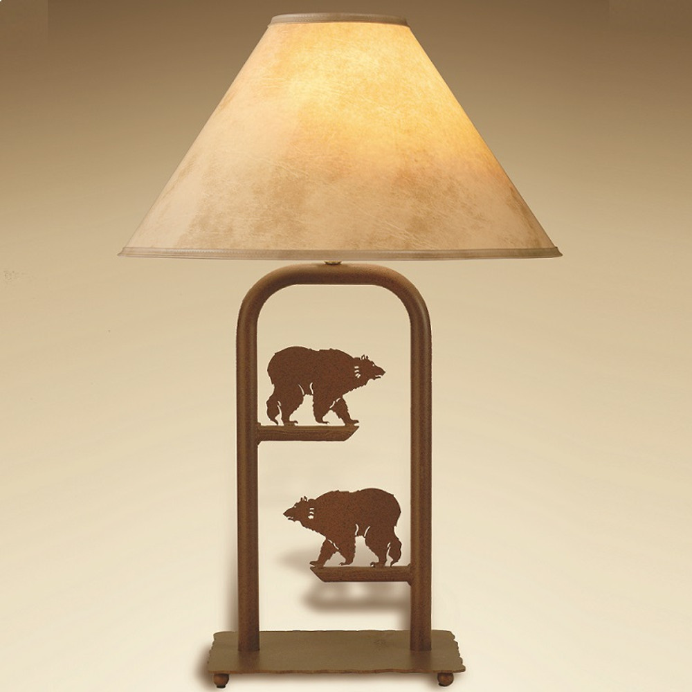 Bear Fortress Table Lamp | Colorado Dallas | CDTLF12SH2158