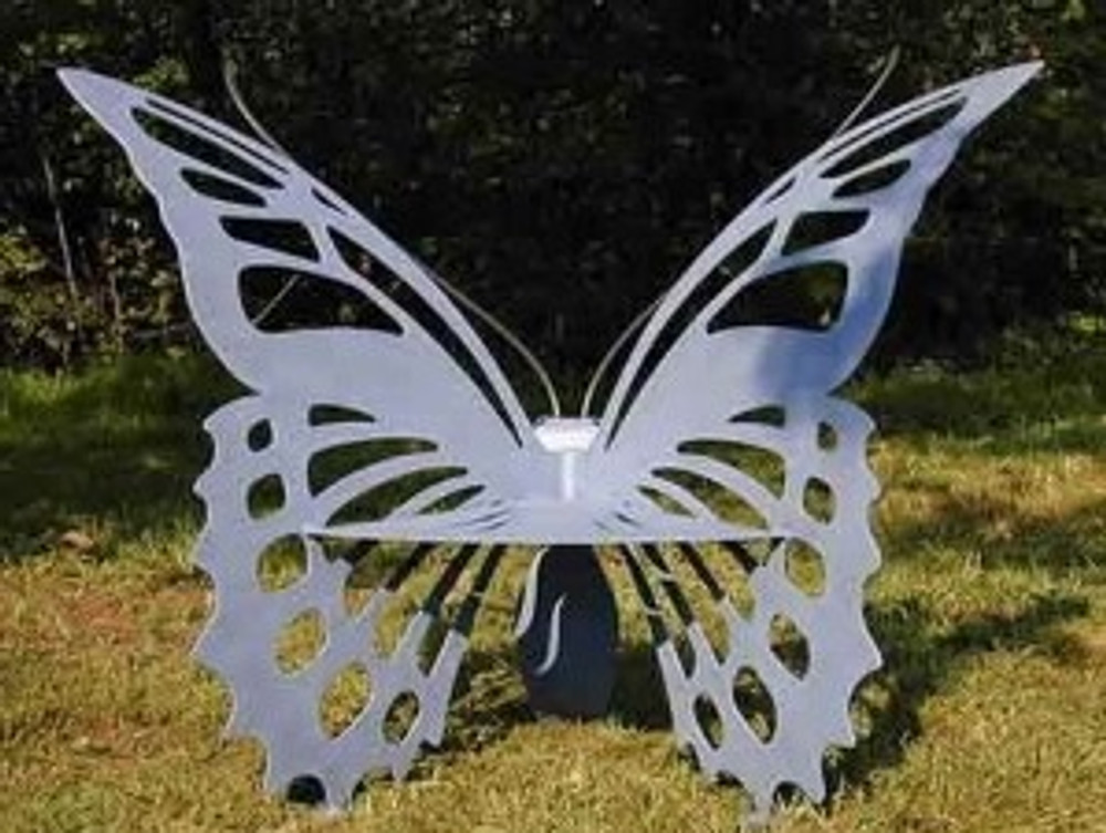 Butterfly Bench Large | Cricket Forge | B002-004 -2